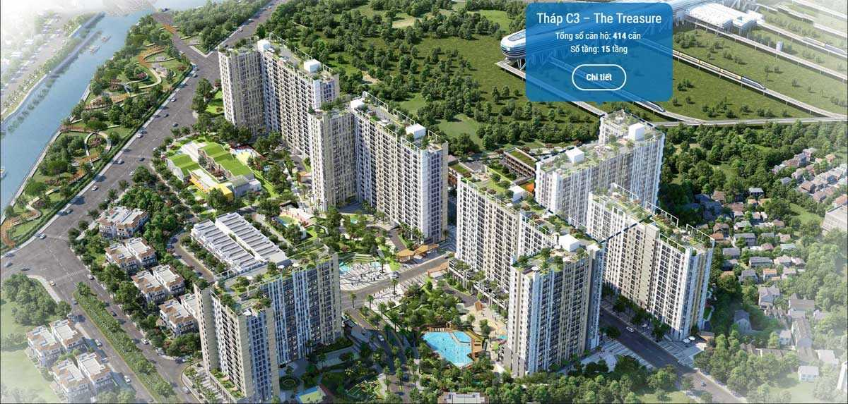 thap c3 the treasure du an can ho picity high park 2020 - PICITY HIGH PARK QUẬN 12
