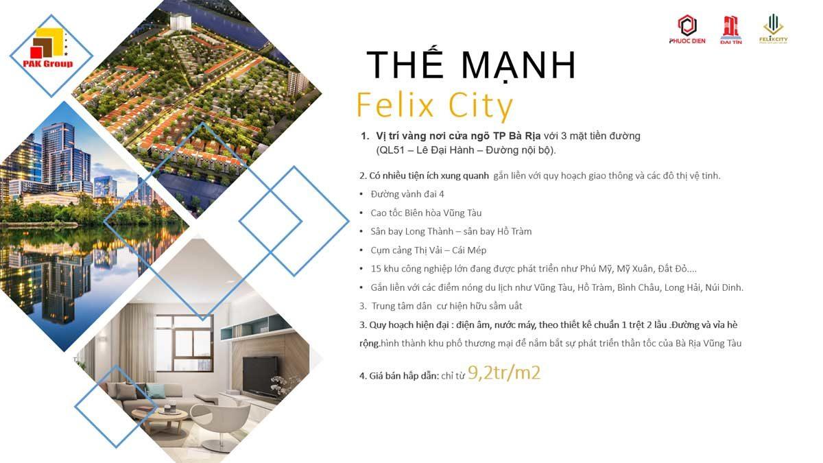 the manh cua felix city - DỰ ÁN FELIX CITY BÀ RỊA