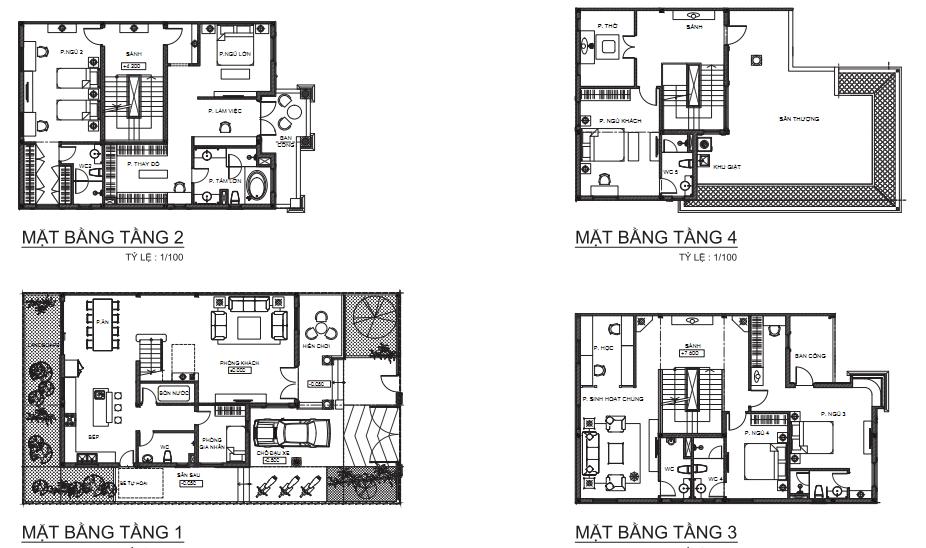 thiết kế biệt thự cityland - DỰ ÁN CITYLAND PARK HILLS PHAN VĂN TRỊ GÒ VẤP