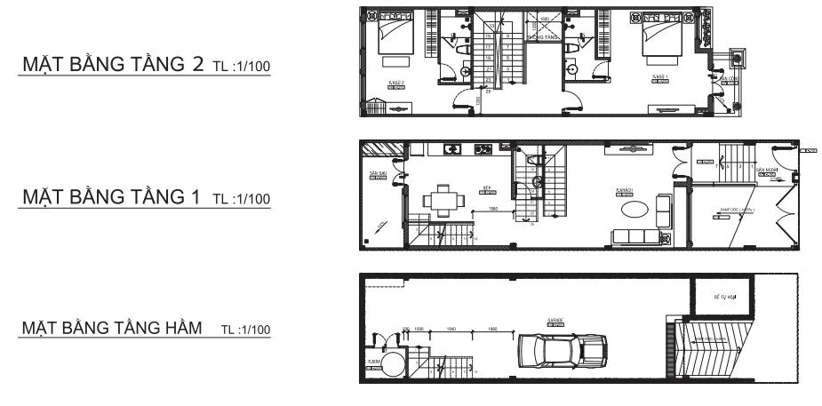 thiết kế nhà phố cityland liền kề 2 - DỰ ÁN CITYLAND PARK HILLS PHAN VĂN TRỊ GÒ VẤP