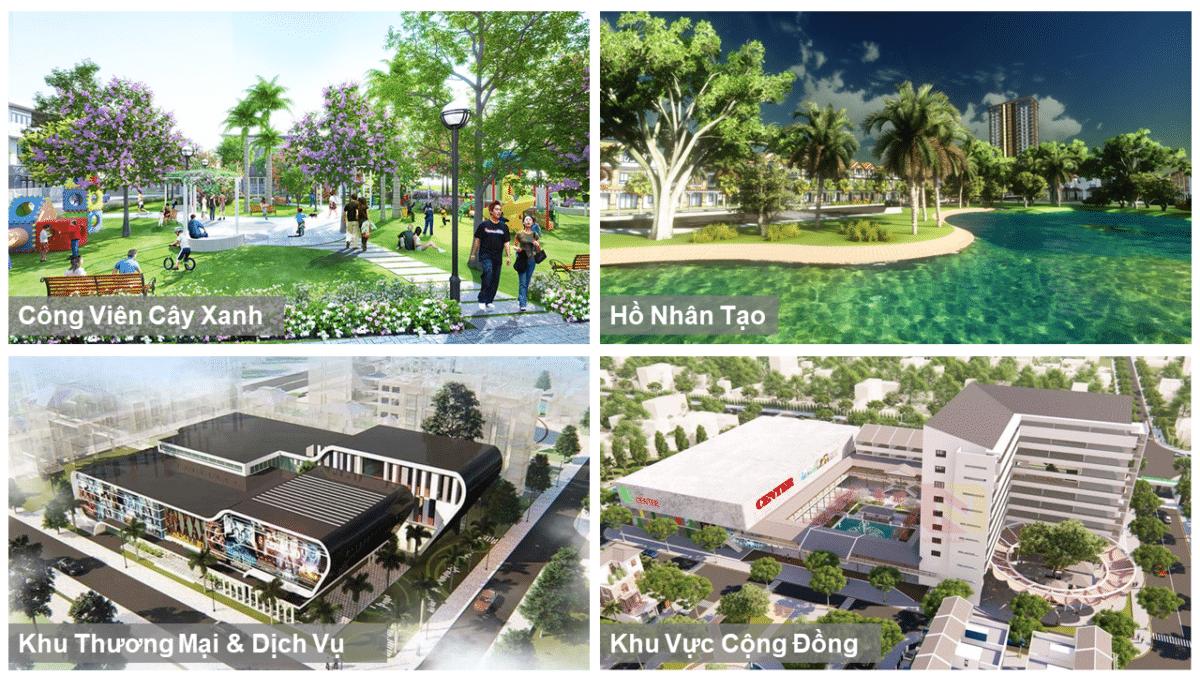 Tiện ích nội khu cao cấp của Dự án Uhome Central Residence Bình Dương