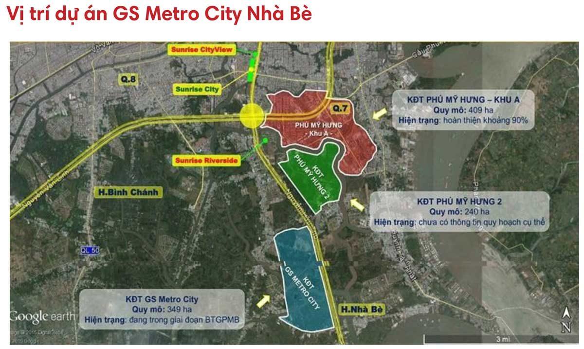 vi tri du an gs metrocity - DỰ ÁN GS METROCITY NHÀ BÈ