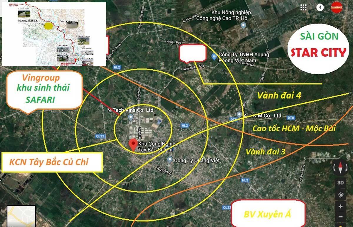 vi tri du an sai gon star city 1 va saigon star city 2 - DỰ ÁN SÀI GÒN STAR CITY CỦ CHI