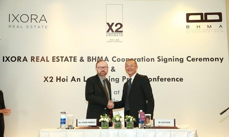 BHMA ký kết hợp đồng quản lý điều hành khách sạn X2 Resorts and Residence Hội An - DỰ ÁN X2 HỘI AN RESORT & RESIDENCE