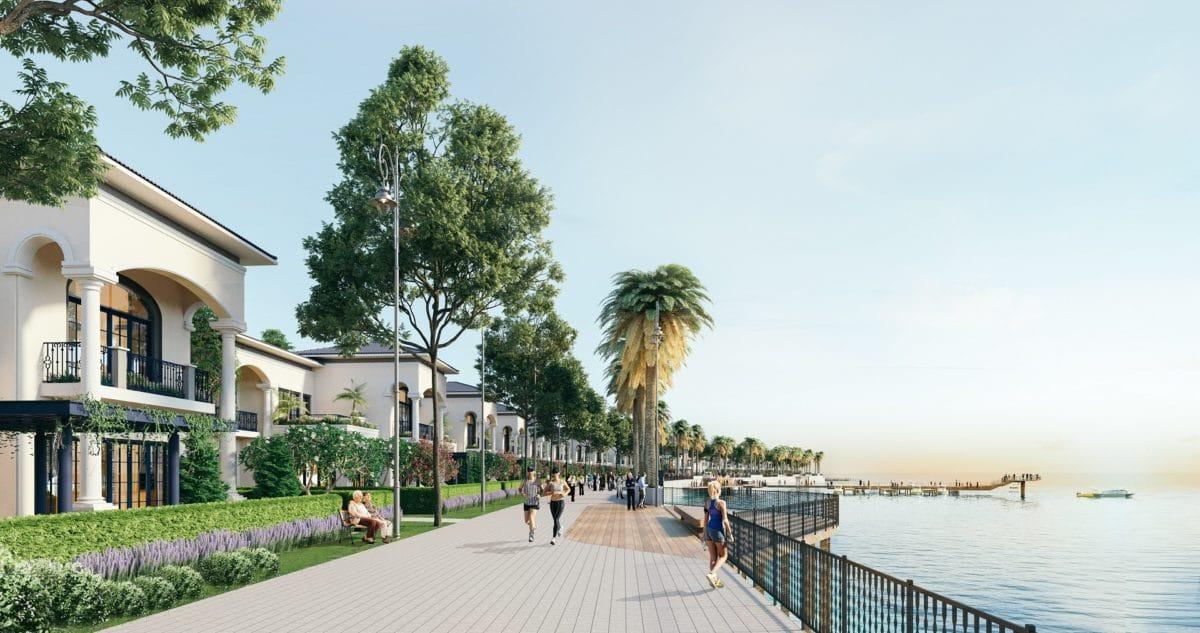 Cầu ngắm biển Hà Tiên Venice Villas