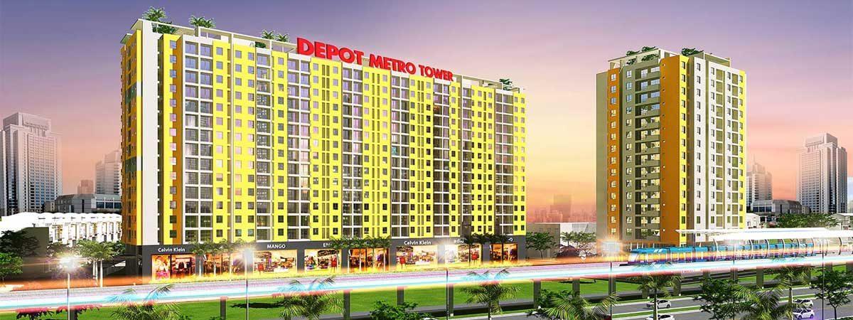 Dự án Căn hộ Depot Metro Tower Tham Lương