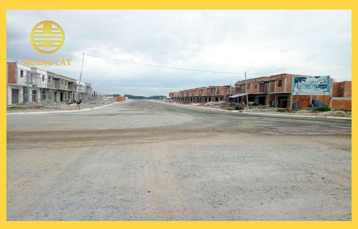 Hình ảnh thực tế Dự án Khu đô thị Hoàng Cát Center Bình Phước