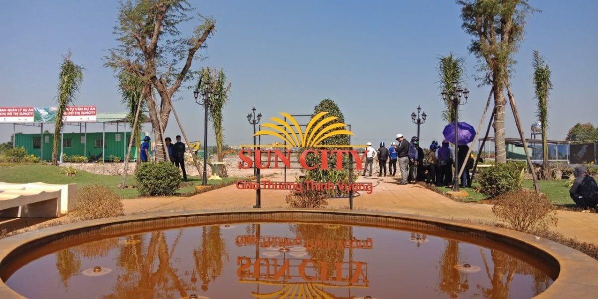 Hình ảnh thực tế tại Dự án Sun City Củ Chi