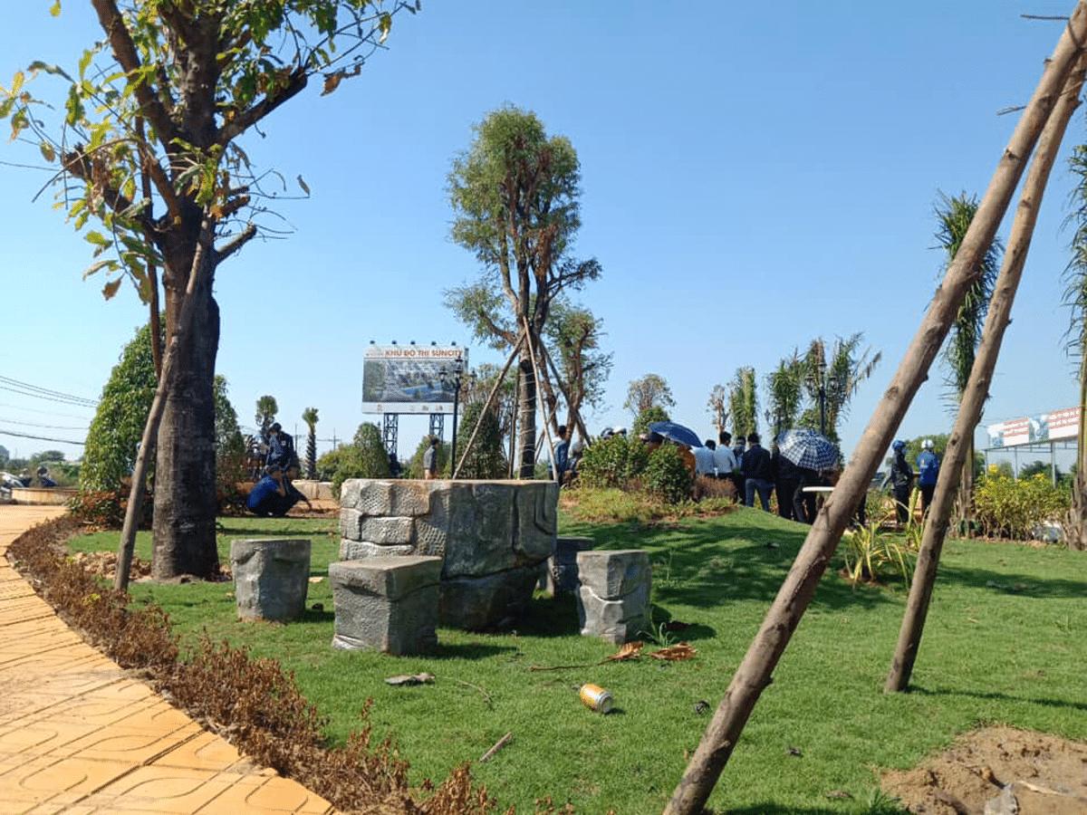Khu công viên Dự án Sun City Võ Văn Bích
