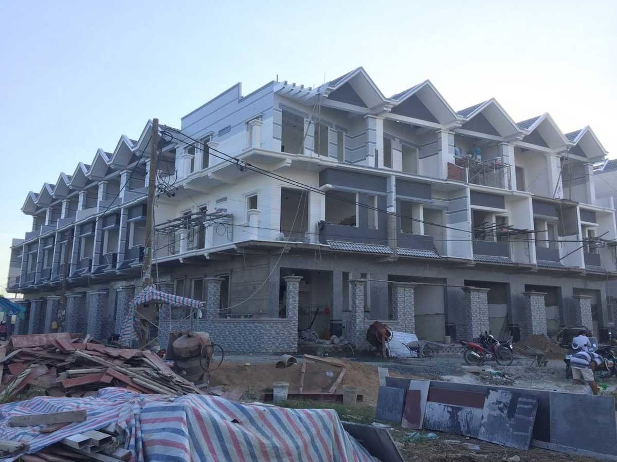 Hình ảnh Thi công thực tế Nhà phố Harbor Garden Quận 8