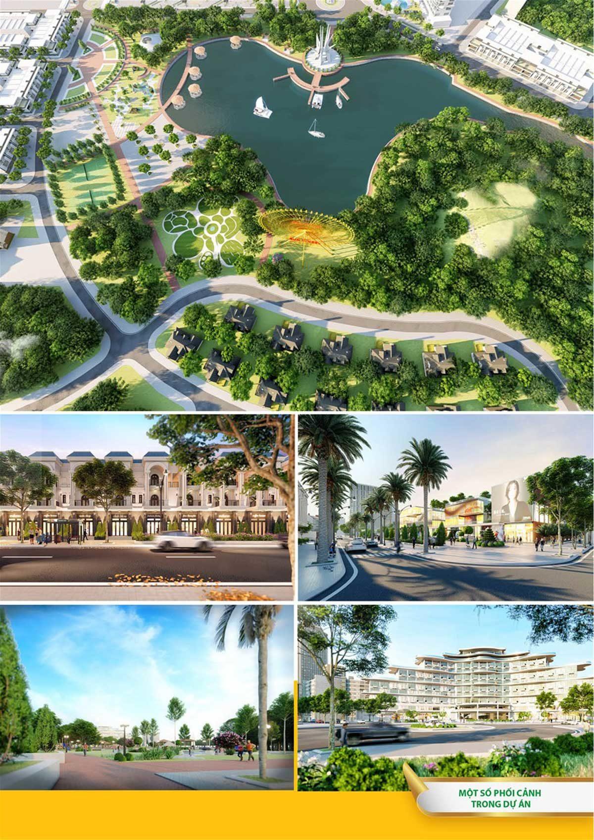 Tiện ích khu công viên Dự án Khu đô thị Phú Mỹ Quảng Ngãi