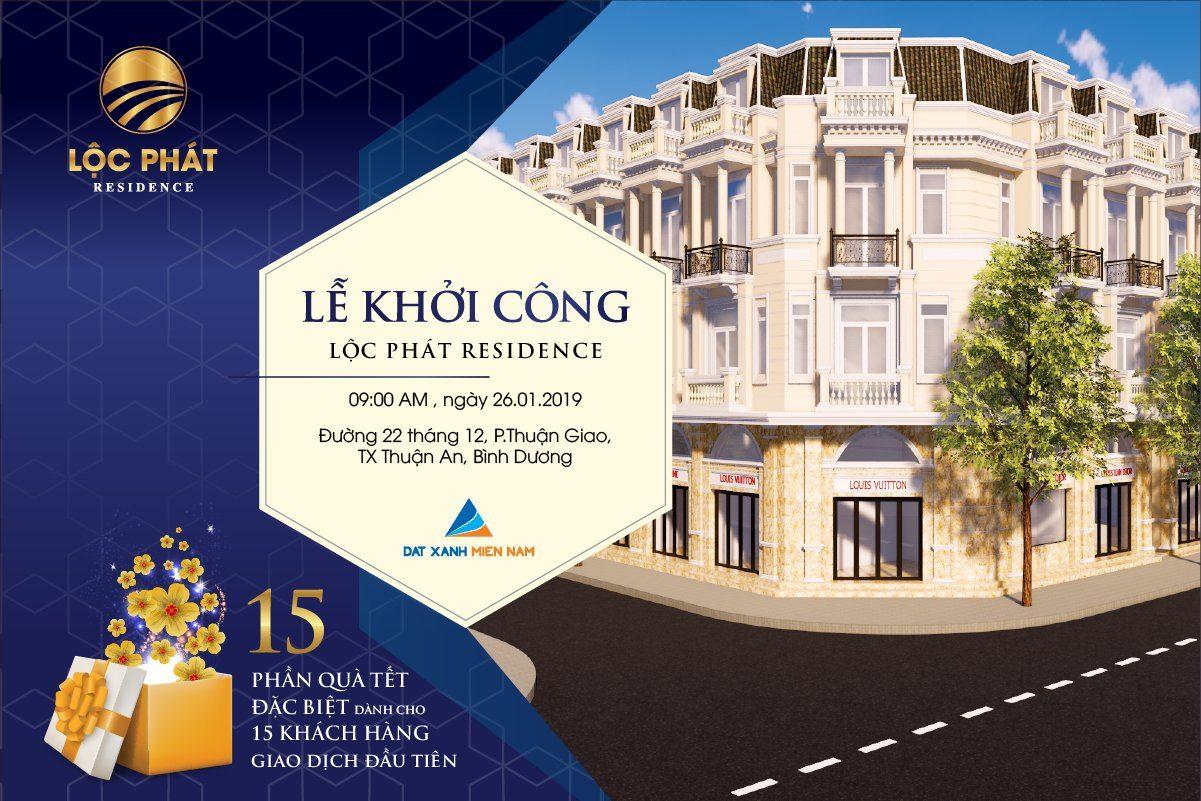 le khoi cong du an loc phat residence - DỰ ÁN LỘC PHÁT RESIDENCE BÌNH DƯƠNG