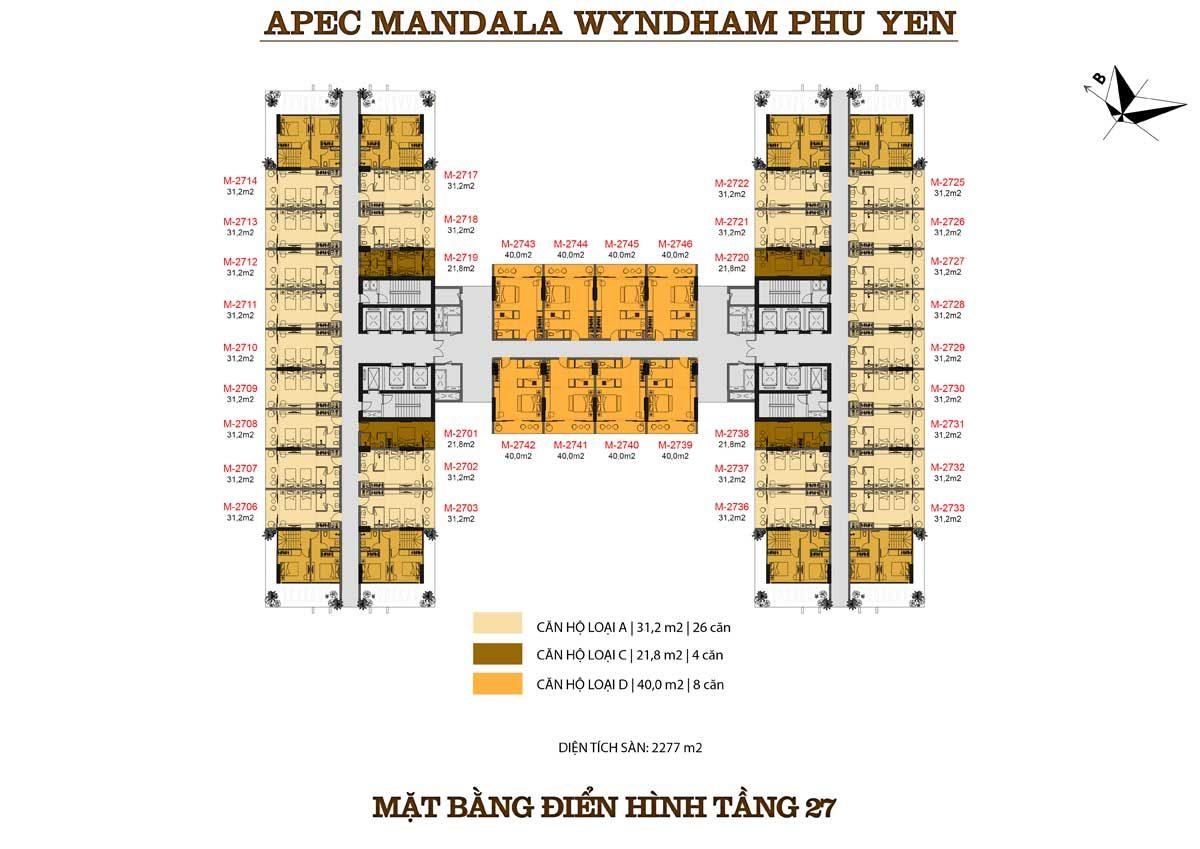 mat-bang-dien-hinh-tang-27-can-ho-apec-mandala-wyndham