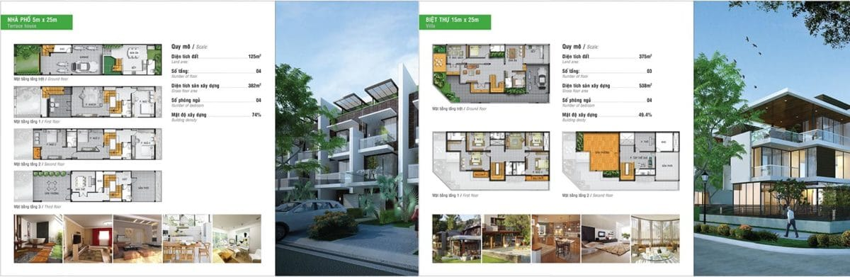 Thiết kế Golden Hills Đà Nẵng