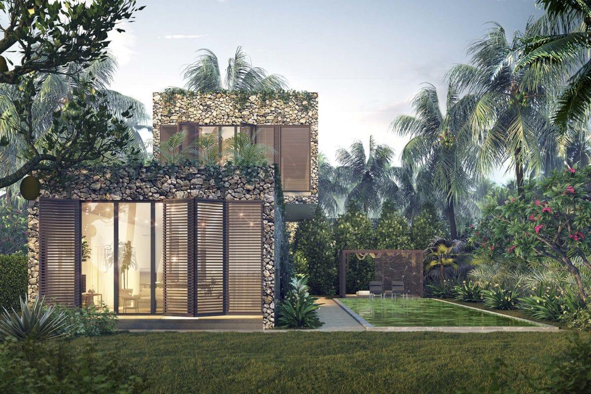 Thiết kế Biệt thự View Sông Villa AA