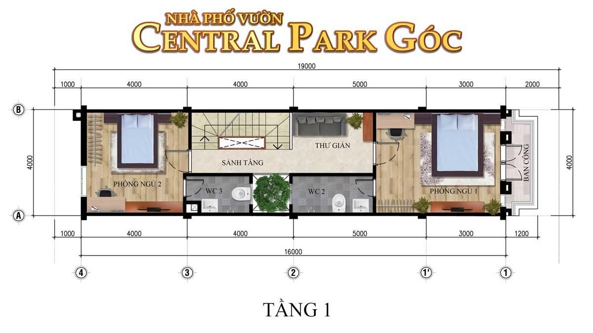thiet-ke-tang-1-nha-pho-vuon-central-park-goc
