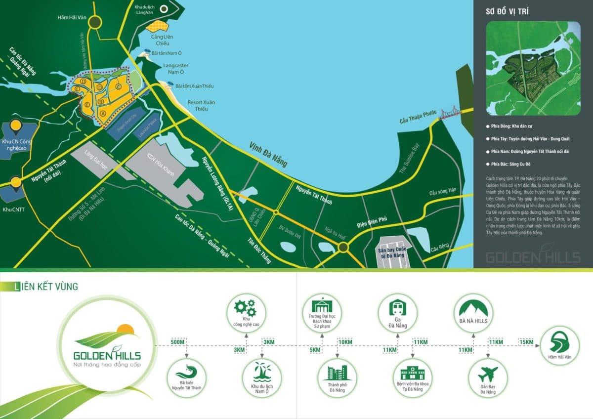Tiện ích Dự án Golden Hills Đà Nẵng