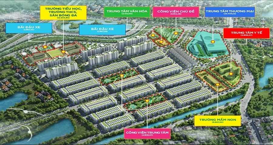 Tiện ích nội khu Dự án Khu đô thị Him Lam Green Park Bắc Ninh