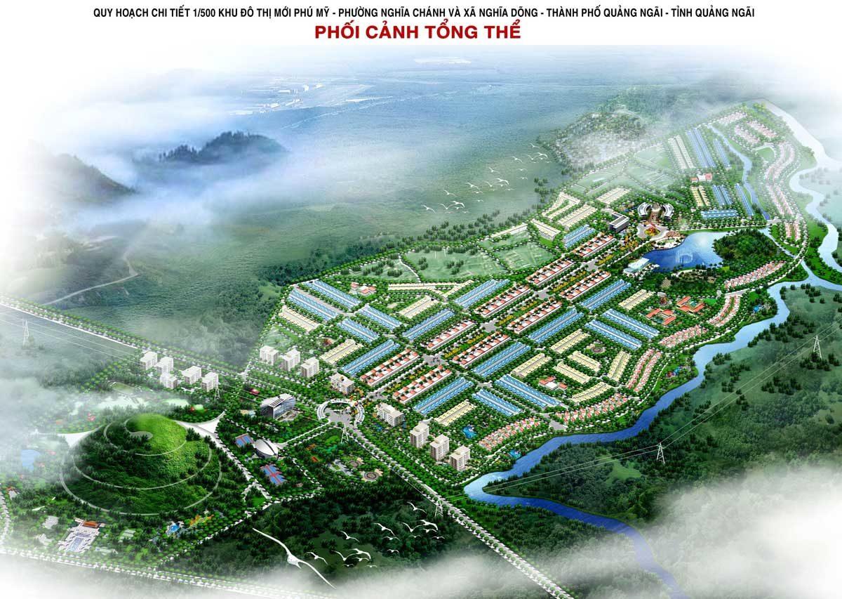 Quy hoạch tổng thể Dự án Khu đô thị Phú Mỹ Quảng Ngãi
