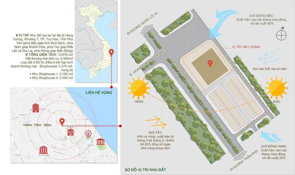 Vị trí Dự án Apec Mandala Wyndham Phú Yên