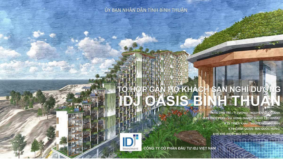 IDJ Oasis - DỰ ÁN CĂN HỘ IDJ OASIS BÌNH THUẬN