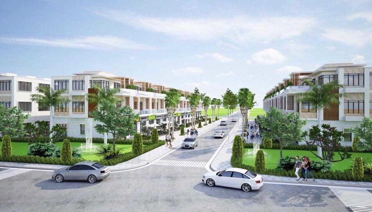 Phối cảnh Dự án Nhà phố - Biệt thự Phước Bình Home