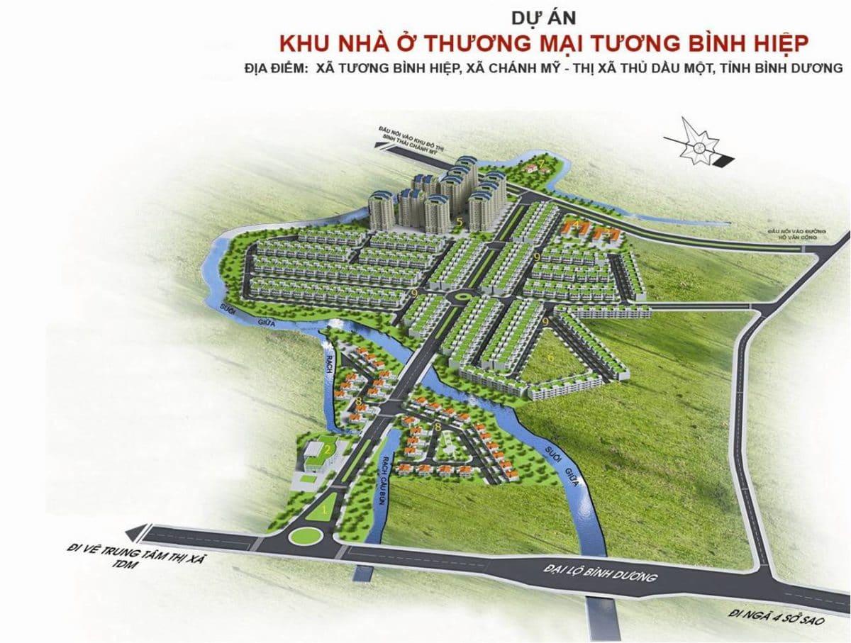 Dự án Khu đô thị Tương Bình Hiệp