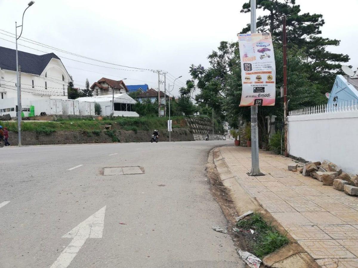 Đường Nam Hồ tại khu Dự án Căn hộ Sun Garden Đà Lạt