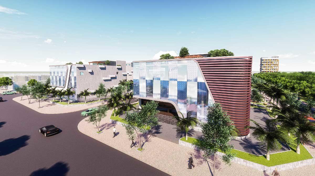 Khu Thương mai Dịch vụ tại Dự án Bac Lieu Riverside Commercial Zone