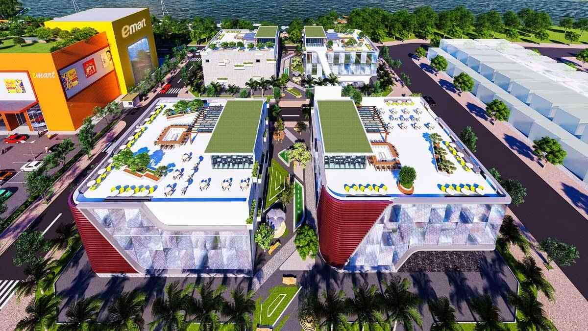 Khu Thương mai Dịch vụ tại Bac Lieu Riverside Commercial Zone
