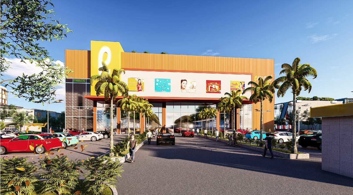 Phối cảnh bên trong Siêu Thị Bac Lieu Riverside Commercial Zone