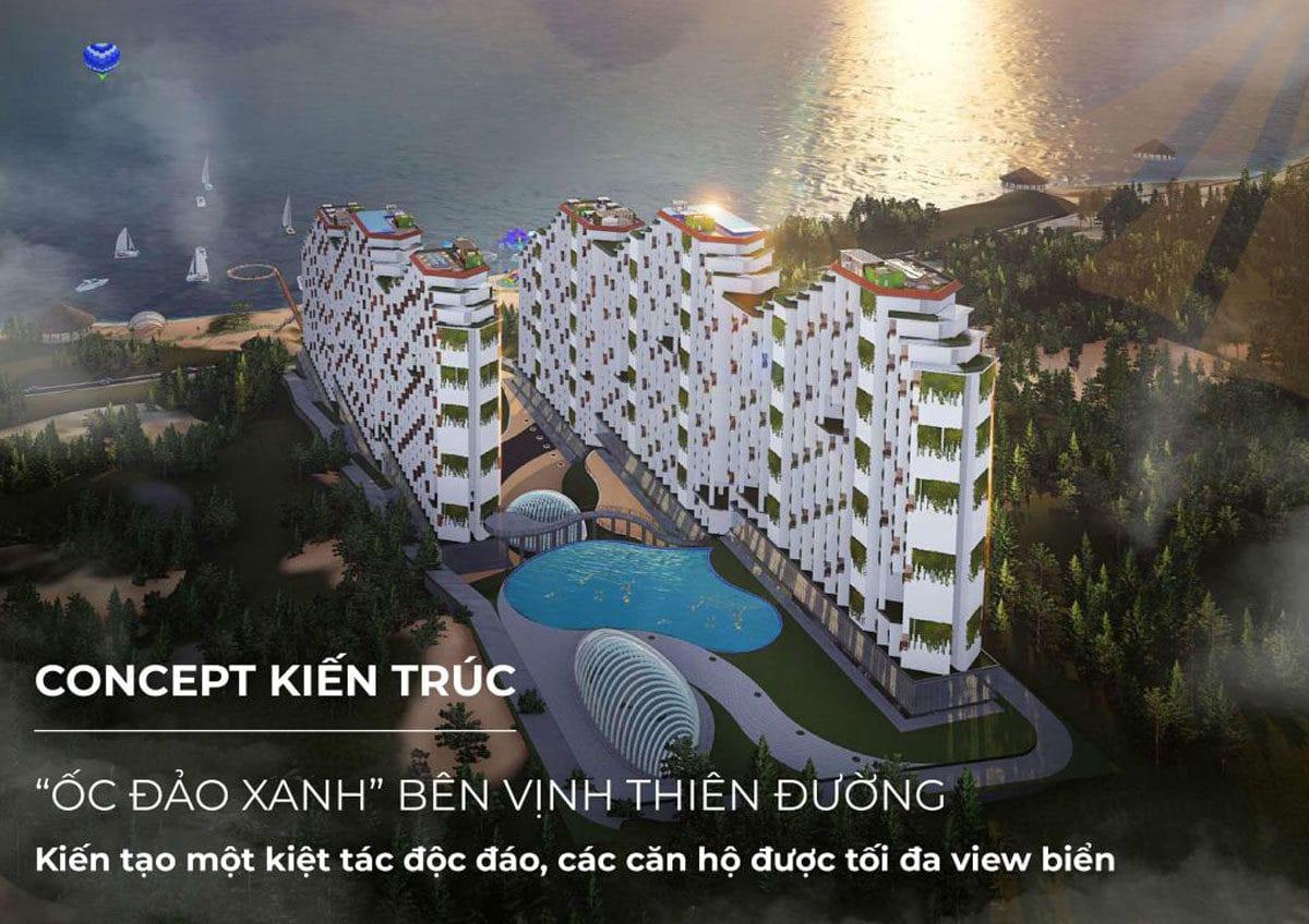 Kiến trúc Dự án Căn hộ Condotel Apec Mandala Mũi Né