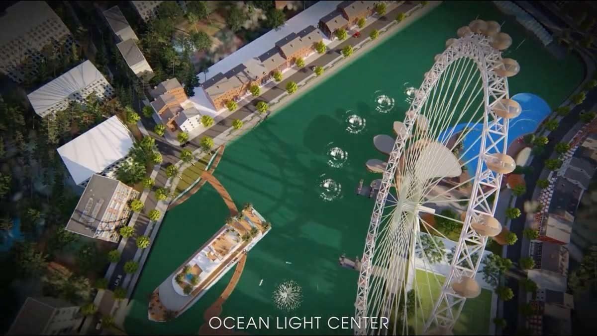 Tiện ích Vòng quay khổng lồ nội khu Dự án Ocean Light Center Phan Thiết