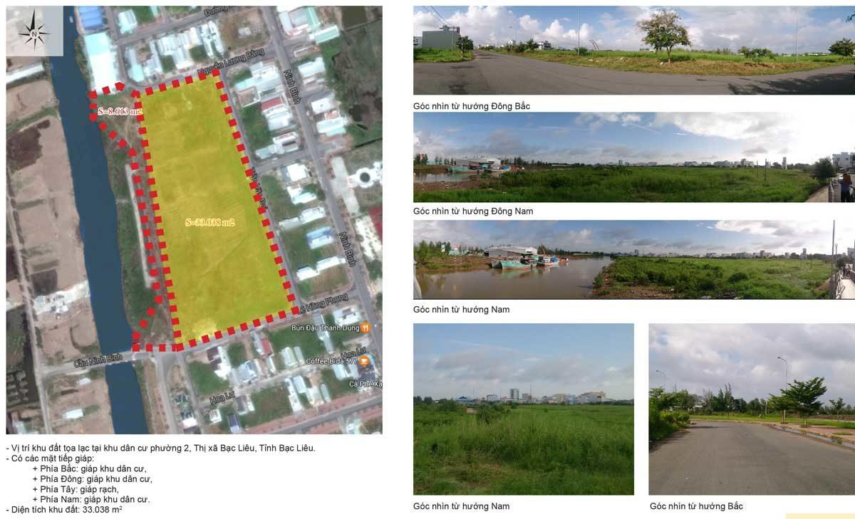 Khu đất Dự án Bac LieuRiverside Commercial Zone