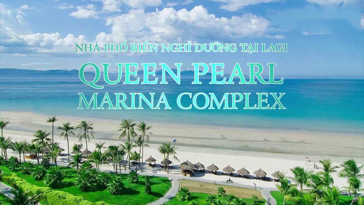 View trực diện Biển tại Dự án Queen PearlMarina Complex Bình Thuận