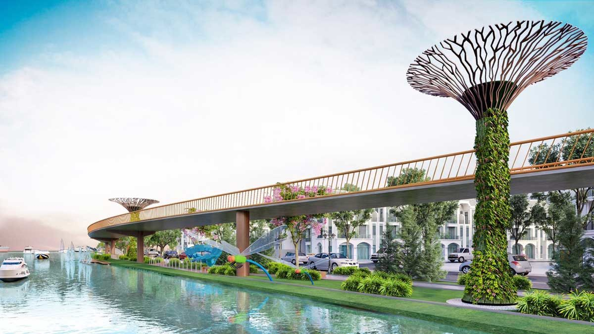 cau di bo tai cong vien du an lavilla green city - DỰ ÁN LAVILLA GREEN CITY LONG AN