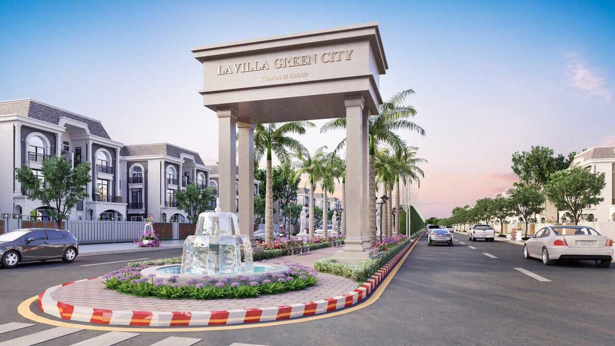 cong du an lavilla green city - DỰ ÁN LAVILLA GREEN CITY LONG AN