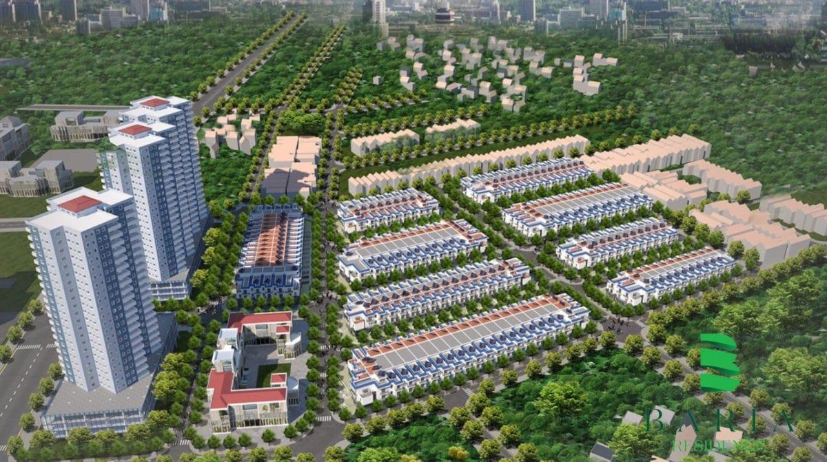 Dự án Đất nền Baria Residence