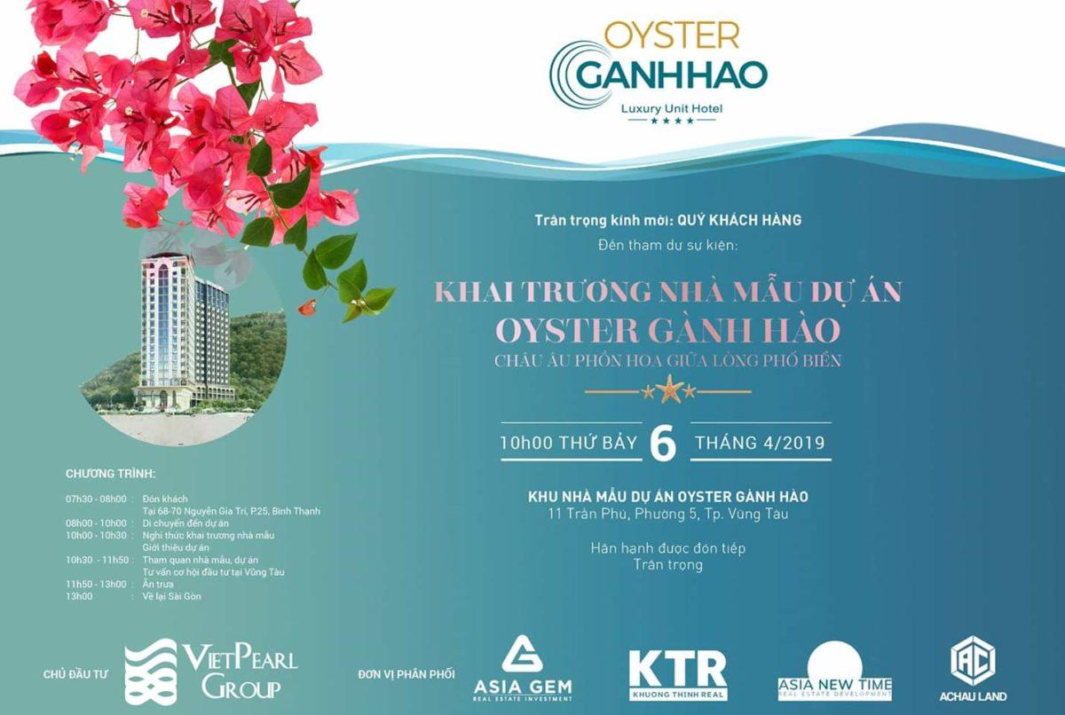 Khai trương nhà mẫu Dự án Oyster Gành Hào