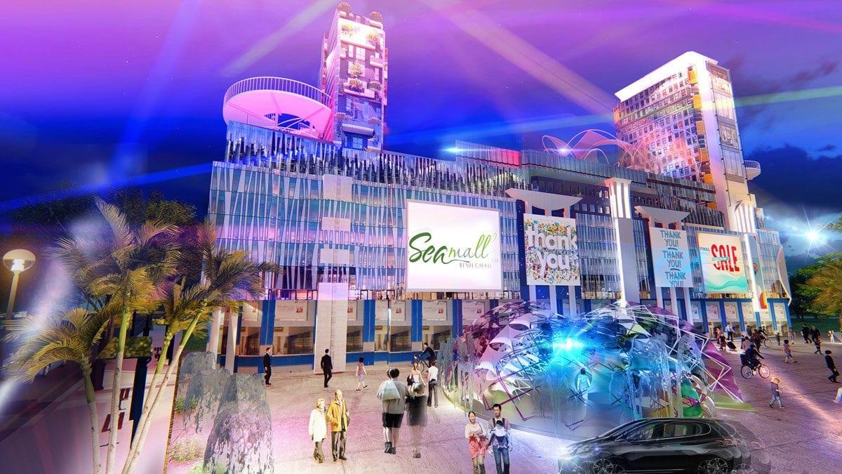 Khu trung tâm thương mại Dự án SeaMall Bình Châu