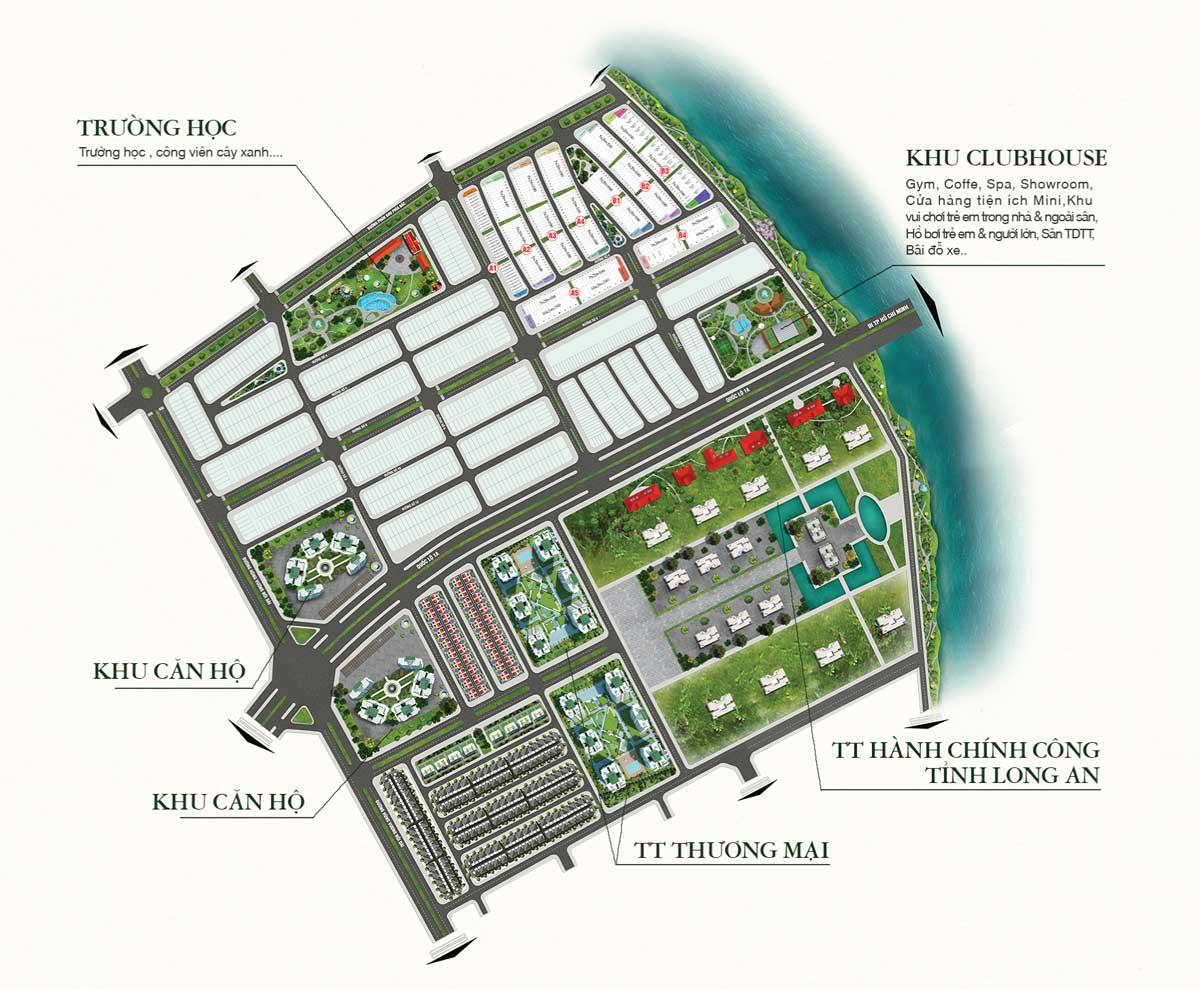 mat bang tong the toan khu du an lavilla green city - DỰ ÁN LAVILLA GREEN CITY LONG AN