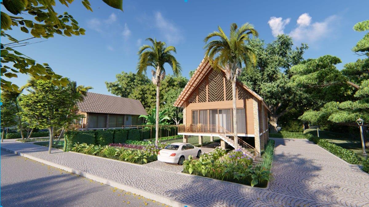 phoi canh biet thu eco bangkok villas binh chau - ECO BANGKOK VILLAS DỰ ÁN BIỆT THỰ BÌNH CHÂU