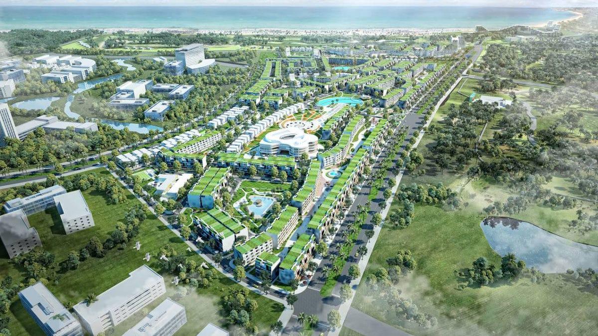 Phối cảnh Dự án Golden Bay Quy Nhơn