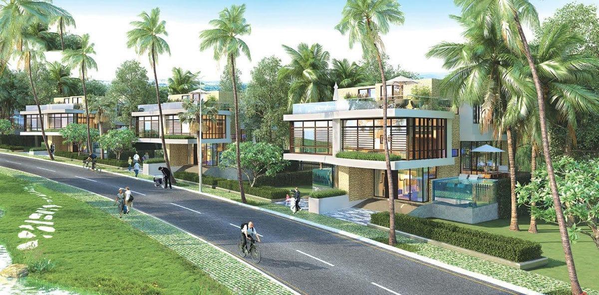 Khu biệt thự Dự án Queen PearlMarina Complex Bình Thuận