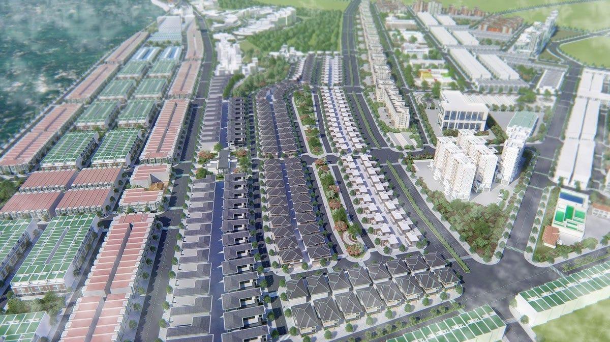 Phối cảnh Khu đô thị Dự án Hamubay Phan Thiết