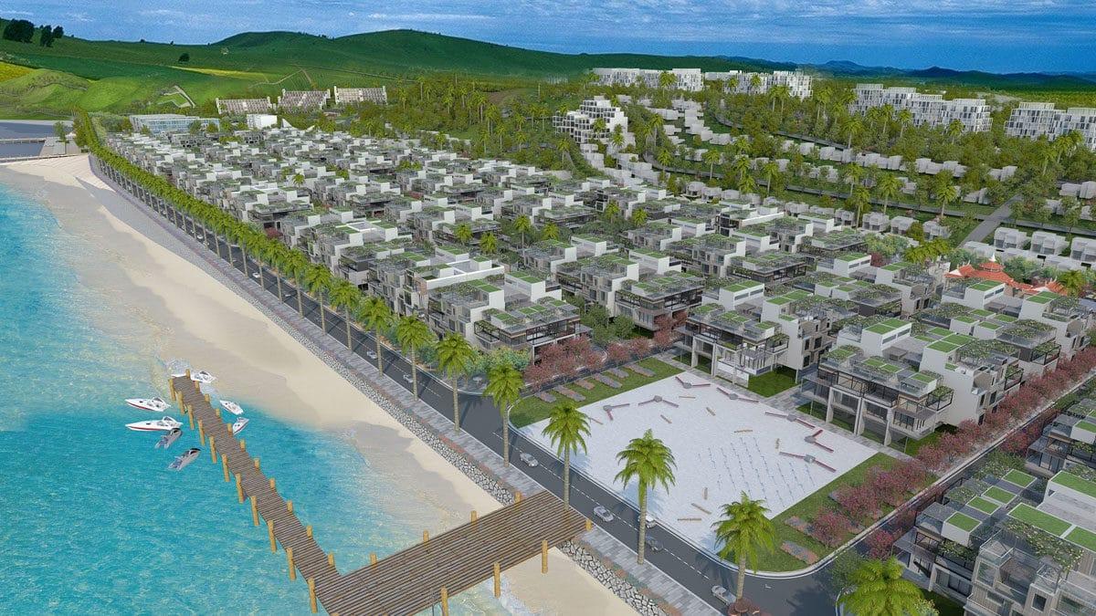 Quảng trường trung tâm Dự án Hamubay Phan Thiết