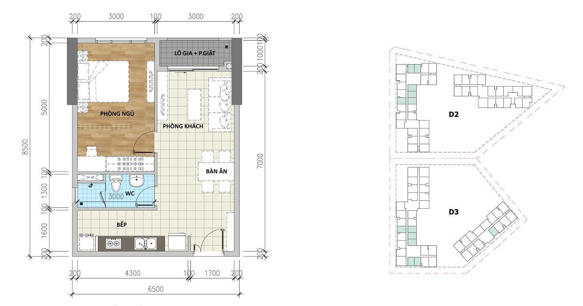 thiết kế căn hộ aio city - DỰ ÁN CĂN HỘ AIO CITY BÌNH TÂN