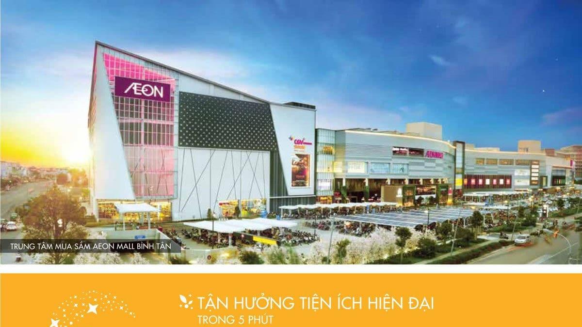 Tiện ích liền kề Trung tâm mua sắm Nhật Bản - Aeon Mall Bình Tân