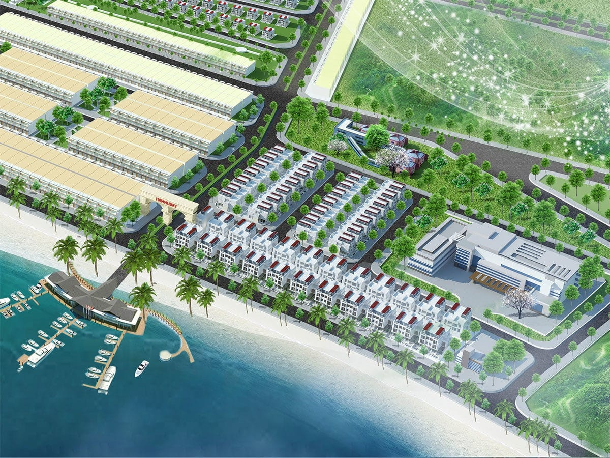 Tiện ích bến du thuyền Dự án Hamubay Phan Thiết