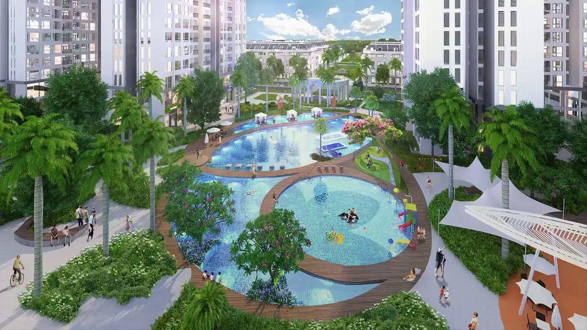 Hồ bơi Dự án Căn hộ Raemian Galaxy City Quận 2